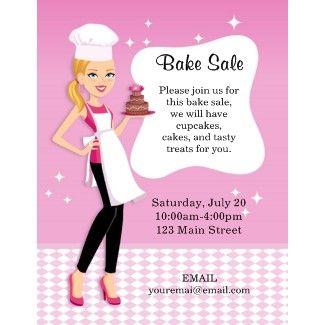 17 Best ideas about Bake Sale Flyer on Pinterest | Bake sale ideas ...