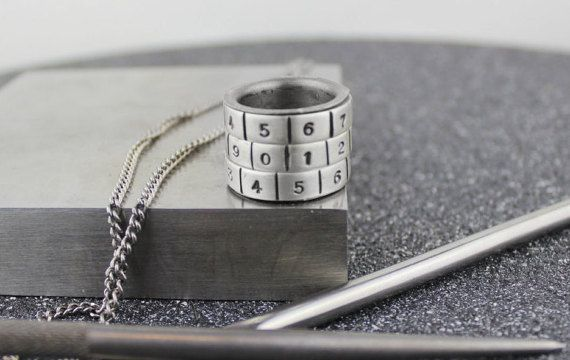 Combinatorial Spinner ring. Silver Numbers by TempestSociety
