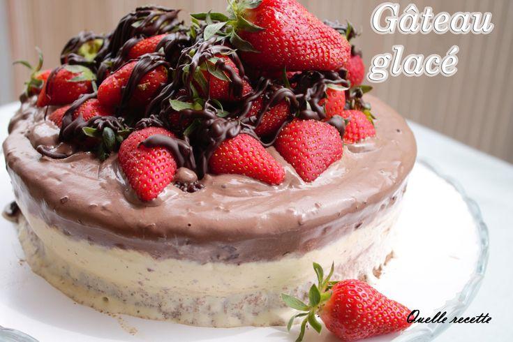 Gâteau Glacé FACILE QUELLE-RECETTE Episode 40