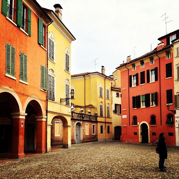 Colours in Modena....