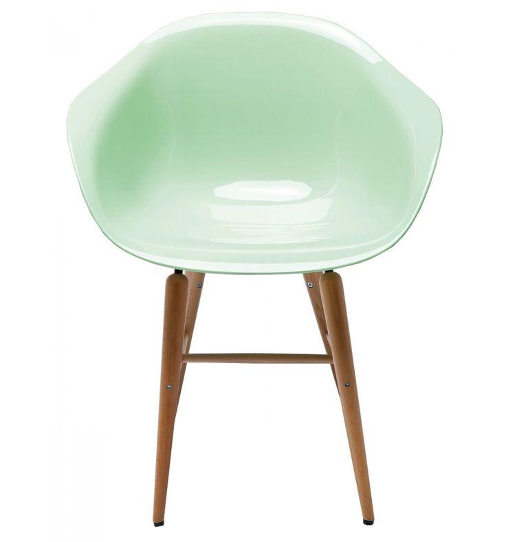 Sedia Forum Wood Verde Menta Set/4 Kare Design