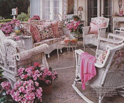 shabby chic patios | Shabby Chic / girlie patio