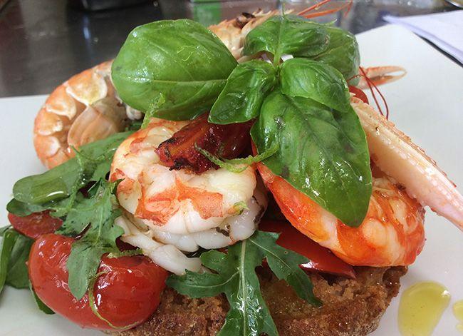Frisella di crostacei | Food Loft - Il sito web ufficiale di Simone Rugiati