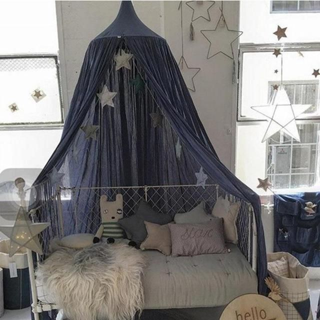 Best 25 canopy bed curtains ideas on pinterest bed for Drapes over crib