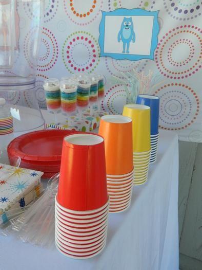 Hostess with the Mostess® - Rainbow Yo Gabba Gabba Birthday Party