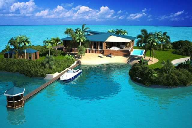 صور خيالية لجزر المالديف ستدهشكم Private Island Portable Island Island