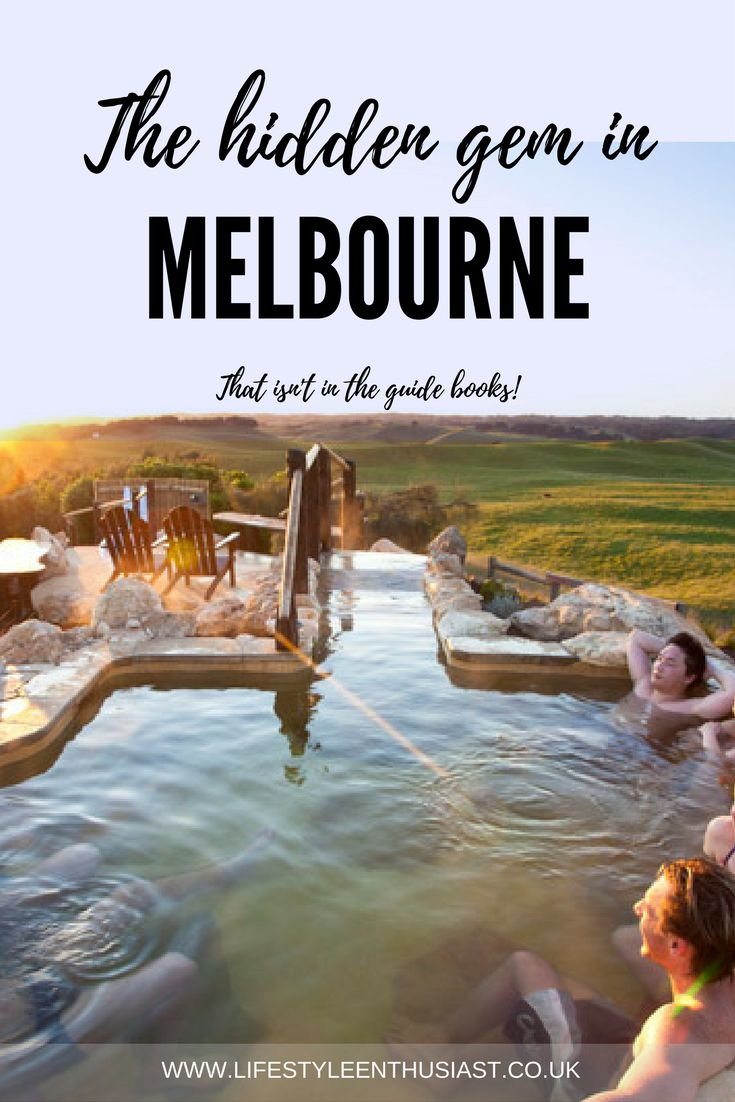 Where to go in Melbourne - the best spots in Melbourne - Hot springs Rye - Peninsula Hot Springs. What to do in Melbourne if it rains. Making the most of a rainy day in Australia - on the luxury travel blog The Lifestyle Enthusiast