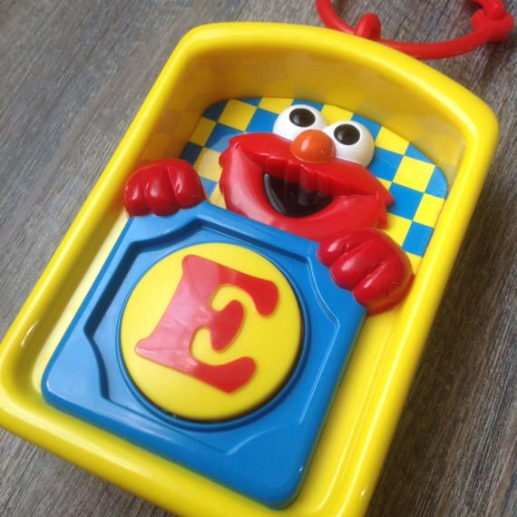 VTG Elmo Toy Elmo MusIcal Toy Preschool Toy Sesame Street