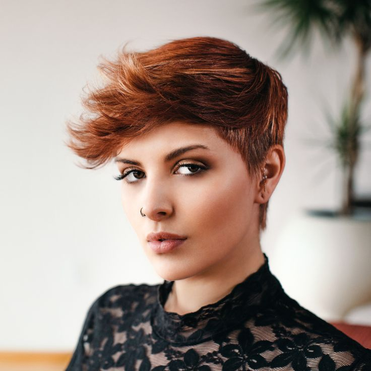 This soft, chic pixie (with an edgy hint) can be cut with shears, but we like how SEVEN® haircare Platform Educator Joseph Anthony uses a feather razor. Watch the whole process and get every step!