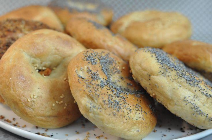 Recette facile en vidéo des bagels américains avec Hervé cuisine