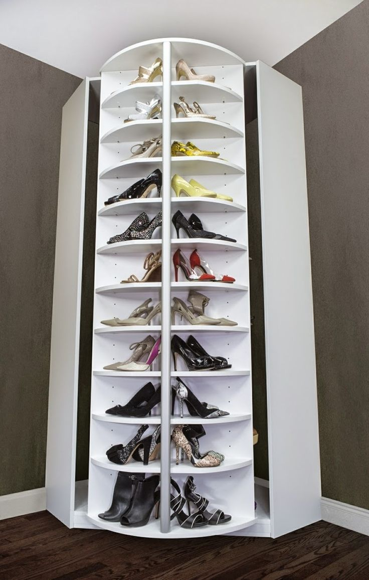 25 Best Ideas About Rotating Shoe Rack On Pinterest