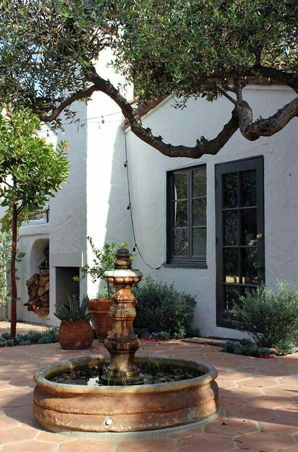 Spanish Colonial Revival- 1926, Los Feliz, Ca.