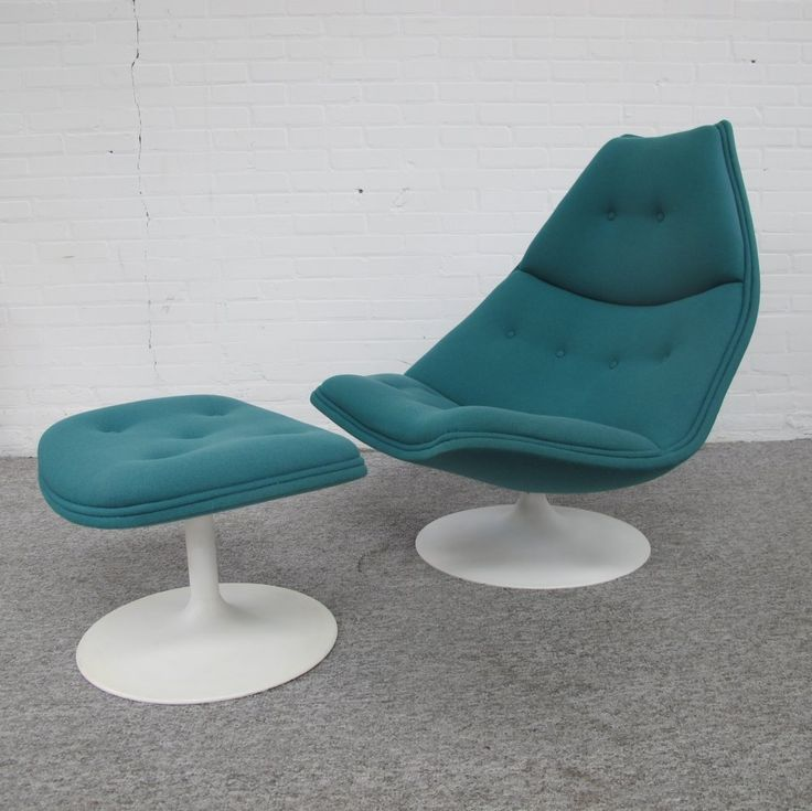 On the market: F510 Lounge chair & ottoman by Geoffrey Harcourt for Artifort, 1970s