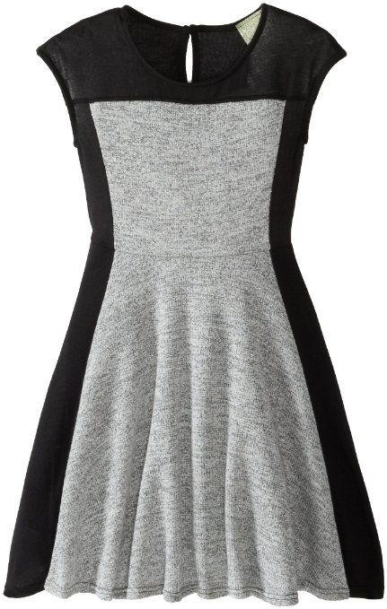 Amazon.com: Kiddo Girls 7-16 Color Blocked Dress: Clothing