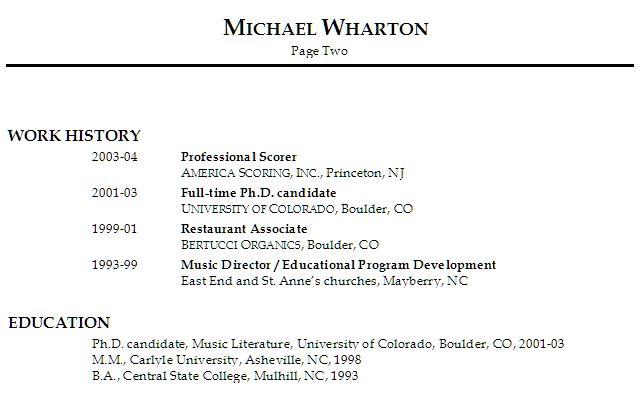 Sample Resume For A Restaurant Job - http\/\/wwwresumecareerinfo - restaurant worker resume