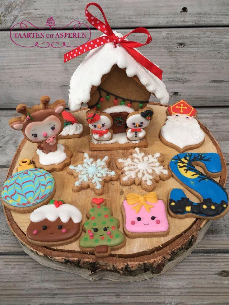 Workshop resultaat koekjes decoreren met icing