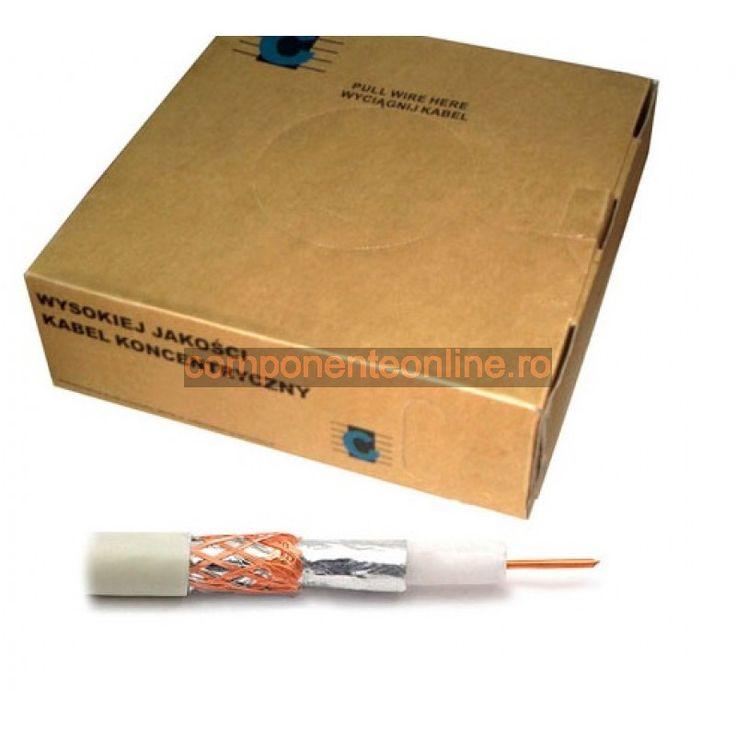Cablu coaxial, RG59U, alb - 402270