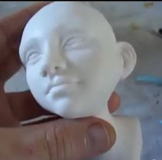 Cold Porcelain Tutorials: Head Modeling Demo by Guilherme Pires