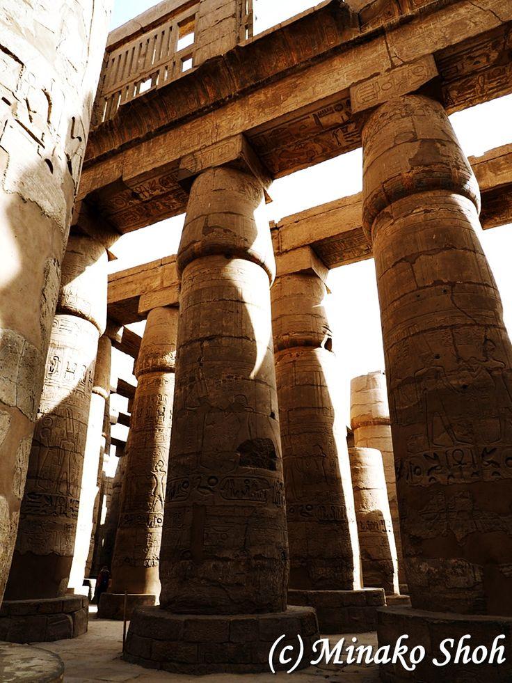"Karnak Temple, Luxor, Egypt May 2016, Olympus OM-D E-M1 エジプト・ルクソール県,カルナック神殿 2016年5月, Olympus OM-D E-M1 [mapsmarker marker=""381""]"