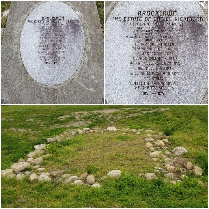 New Bedford Massachusetts, Daniel Ricketson memorial and