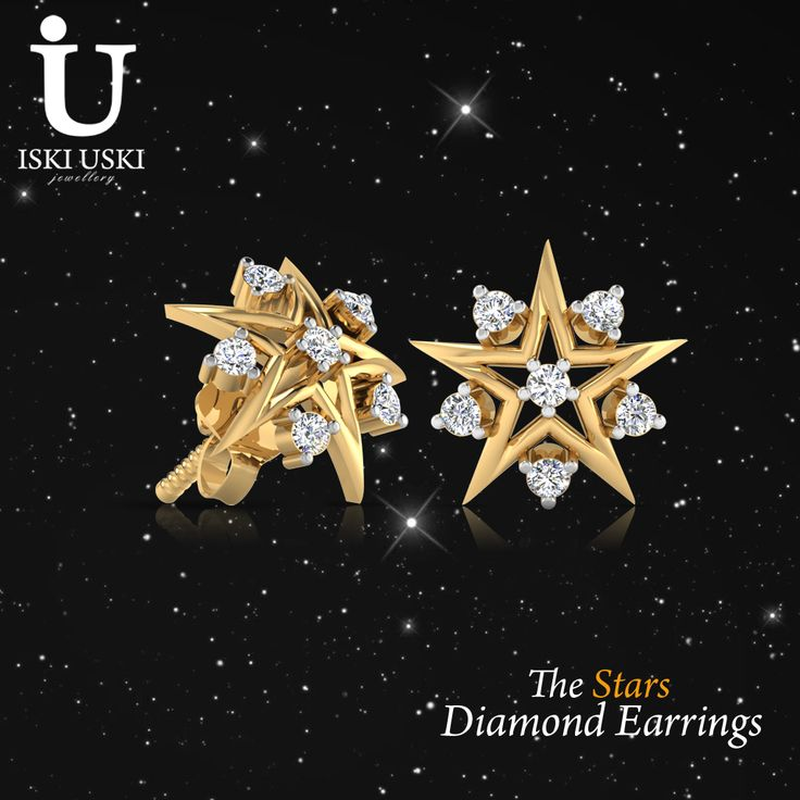 Shop the latest collection of #Stars #Diamond #Earrings from the most popular stores - all in one place..!!