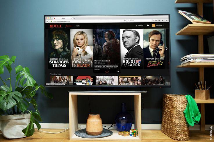 Zurücklehnen und entspannt eine Serie anschauen, ohne die Angst, dass die Internetverbindung abbricht? Uns gefällt der Gedanke.