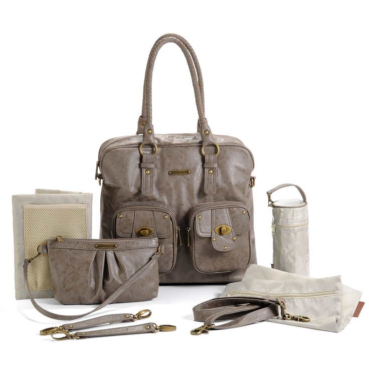 Have to have it. Timi and Leslie Rachel Convertible Diaper Bag - Taupe $159.99