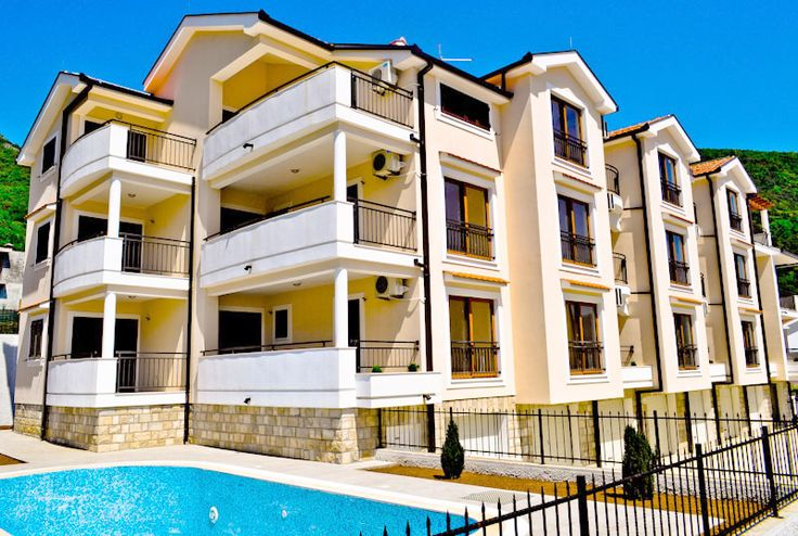 Herceg Novi, Baosici- Luxury new apartments 39m2-90m2, in a complex with swimming pools and garages | Real Estate Montenegro