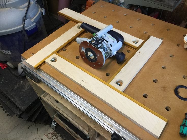 Homemade Mfs 600 Router Template Festool Jigs And Tool
