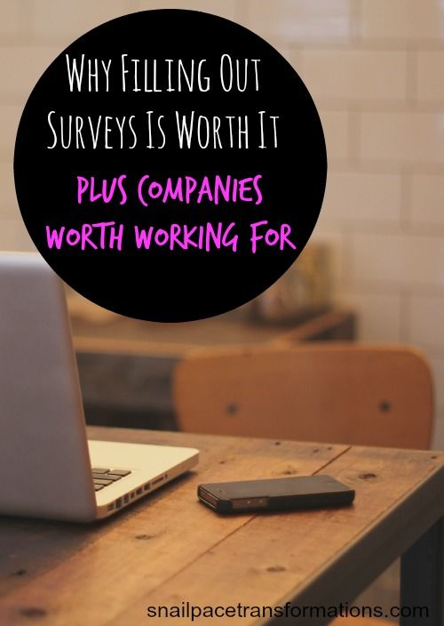 The one reason filling out surveys is worth it and how to find survey companies worth your time.
