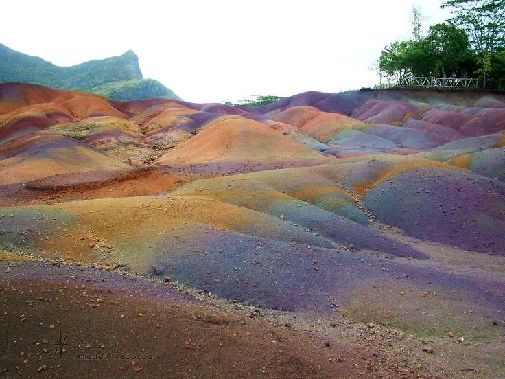 Mauritius: The Seven Colors Earth, Beautiful and Unusual Natural Phenomena
