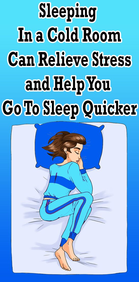 Sleeping In a Cold Room Can Relieve Stress and Help You Go To Sleep Quicker