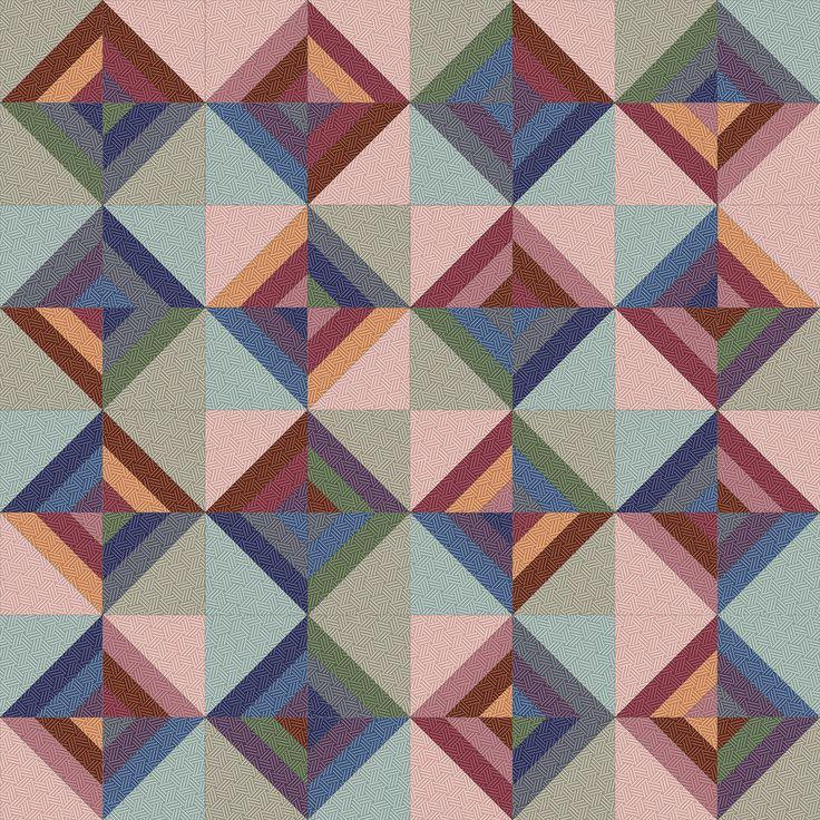 Hadleigh Roman Stripe Quilt idea 4