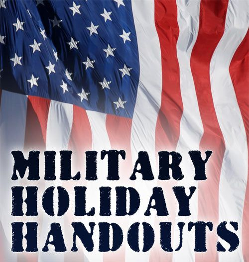 Free printables. These double-sided worksheets teach kids about our major military holidays: Armed Forces Day, Memorial Day, Flag Day, Independence Day, and Veterans Day. #VeteransDay www.operationwearehere.com/veteransday.html