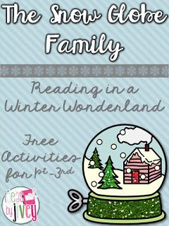 Reading In A Winter Wonderland with Ideas by Jivey- freebie for The Snow Globe Family