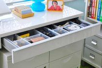 10 Reader Tips for Nursery Organization Nesting a Nursery | Apartment Therapy