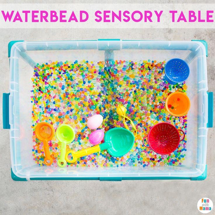 Water Beads Fun Sensory Bin!