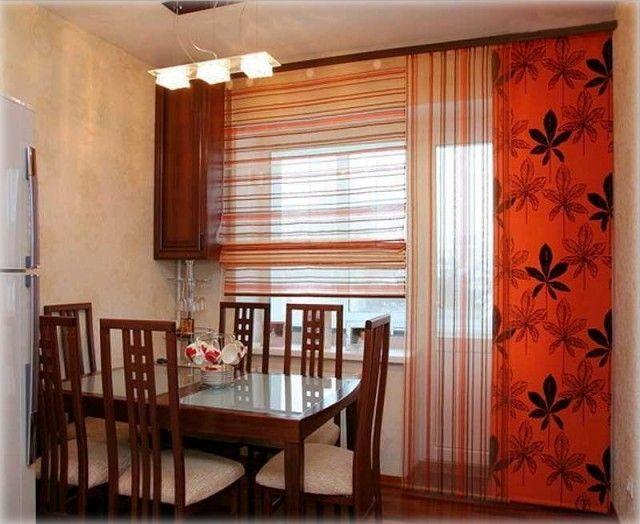 Оранжевые японские панели