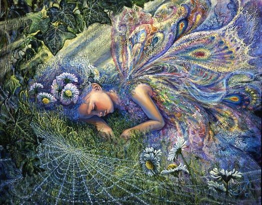 """""""Caught by a sunbeam""""-Josephine Wall, Sometimes God catches you to Rest and you are just as beautiful <3"""
