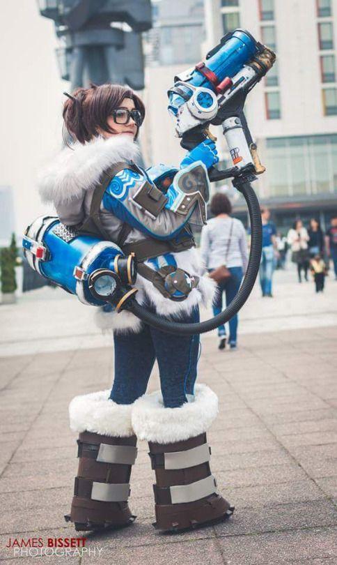 Mei From Overwatch BySukairi Photo Bt James Bissett