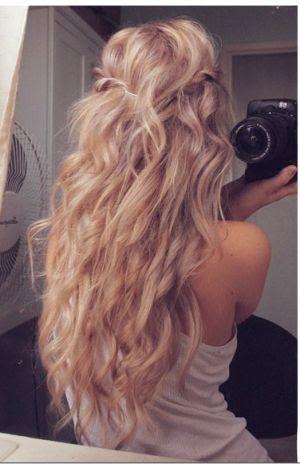 loose waves wedding hair - Google Search