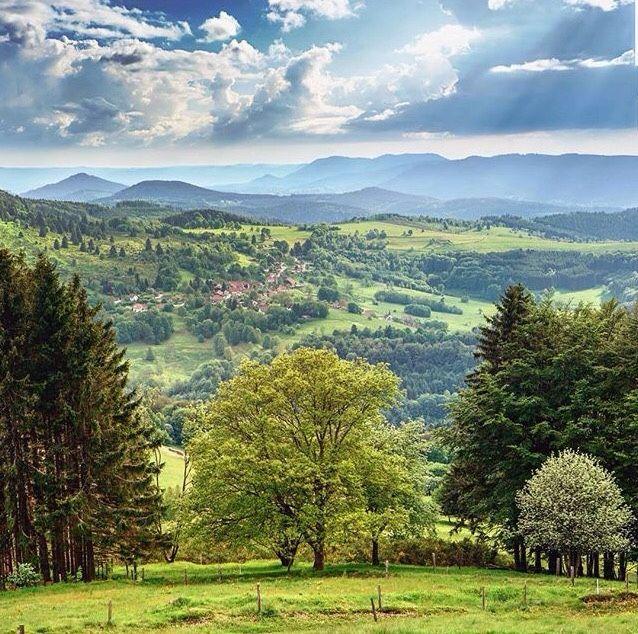 La touche française - les Vosges France