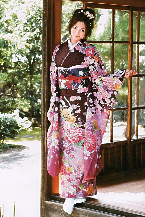 """Kimono... """"Ane Can"""" Model, Moe Oshikiri"""