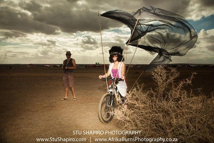Stu Shapiro at Africa Burn 2012
