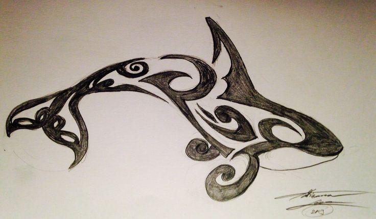 orca_tribal_tattoo_by_adribelle35-d7mzn9y.jpg (1024×597)