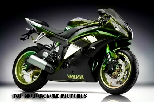 yamaha-yzf-r6-yellow-green-modification   love this green on black