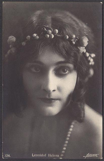 Ileana Leonidoff, Dancer and Silent Film Star