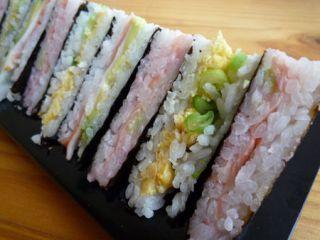 Club sandwich à la Japonaise