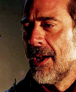Look at Lucille. I wonder who's blood that is :( [gif]