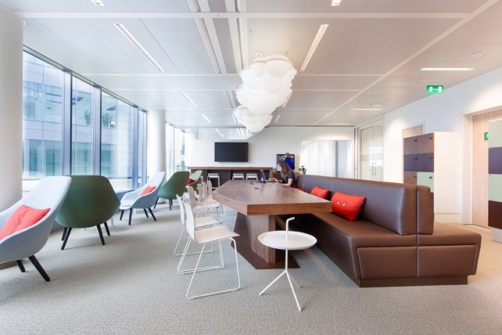 ING project Belgium with HAY - new offices